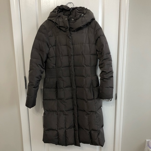 Cole Haan Hooded Puffer Coat